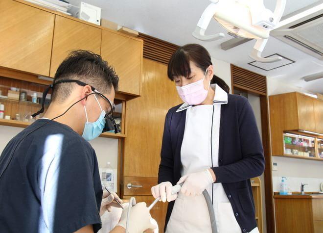 府中駅 徒歩4分 けやき歯科医院のスタッフ写真2