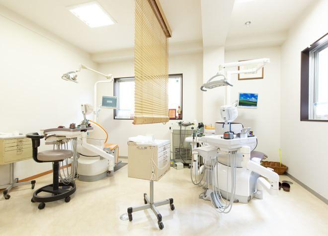 西新井駅 出口徒歩 5分 小松歯科医院の治療台写真6