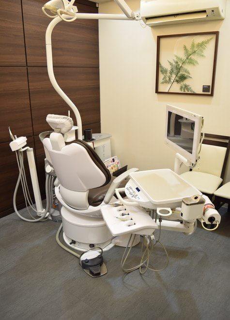 伊丹駅(阪急) 出口徒歩 5分 はまだ歯科クリニックの治療台写真2