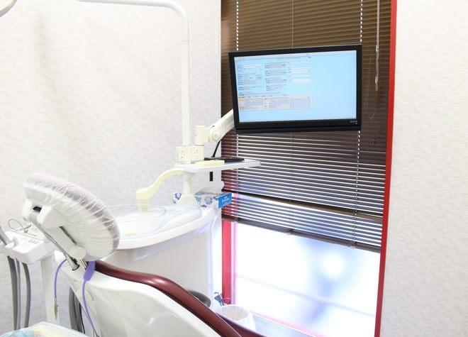 井高野駅 2番出口徒歩 5分 ひかり歯科クリニック 摂津院の治療台写真6