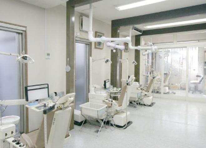 浦和駅 東口徒歩 10分 橘田歯科医院の治療台写真2