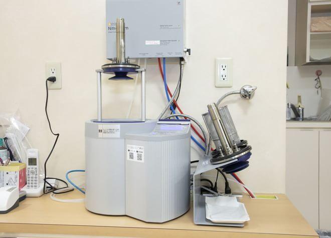 器具を一つひとつ滅菌!クリーンな治療環境で健康を守る
