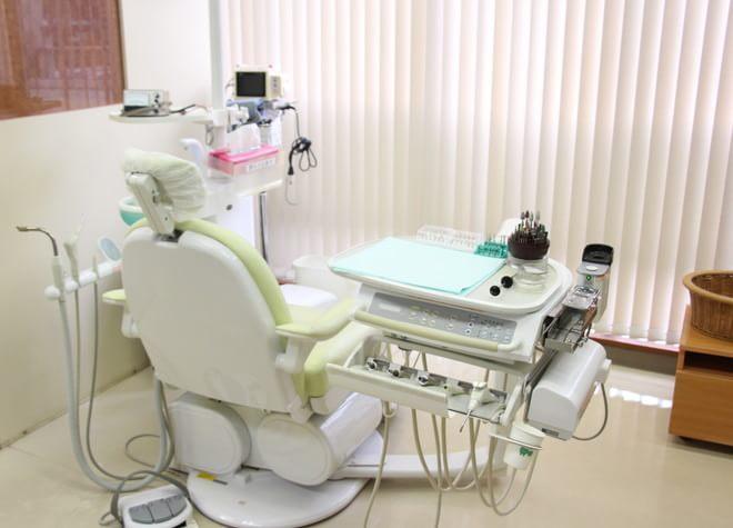 西葛西駅 南口徒歩 12分 清新南歯科の治療台写真6