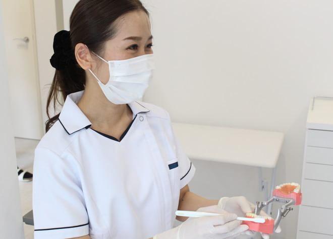 染め出し液も使ったブラッシング指導!歯周病の検査も実施