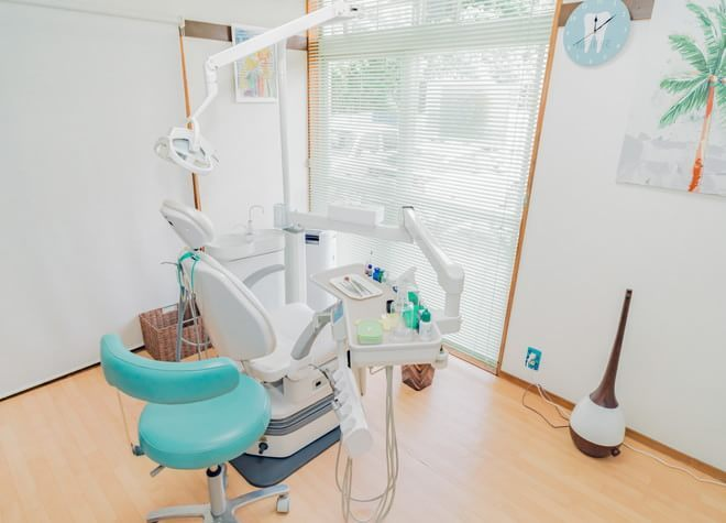 診療ユニットは1台のみ!一人ひとりに向き合った誠実な歯科診療