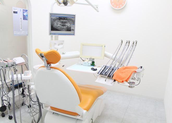 志木駅 南口徒歩 2分 はせがわファミリー歯科の治療台写真7