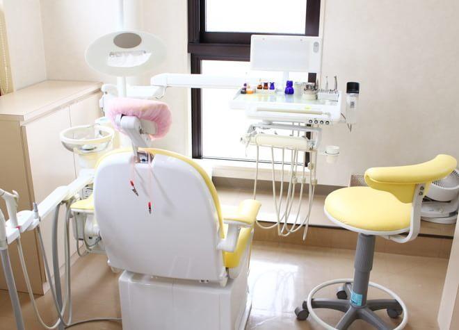 湘南台駅 小田急線側西口徒歩5分 わだ歯科クリニックの治療台写真3