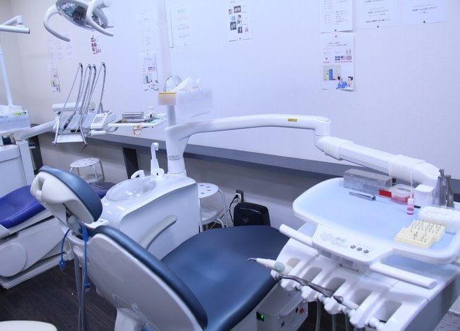 西大宮駅 出口徒歩15分 ショッピングセンター歯科の治療台写真2