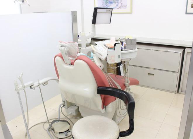 鶴瀬駅 西口徒歩 13分 はばら歯科の治療台写真3