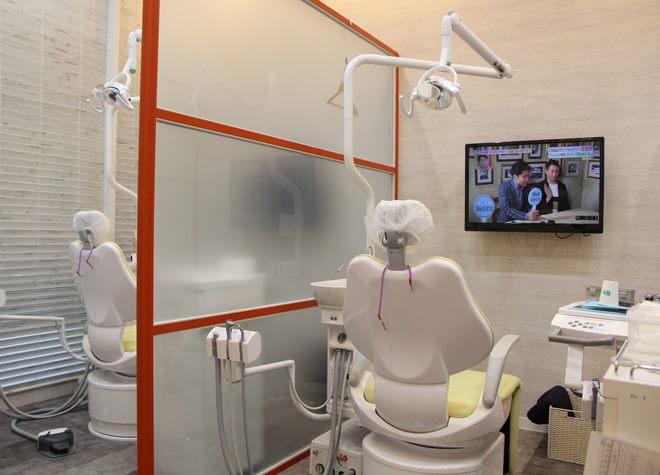 目黒駅 東口徒歩 1分 目黒駅前セントラル歯科の治療台写真2
