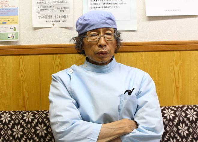 ウメダ歯科医院の院長先生