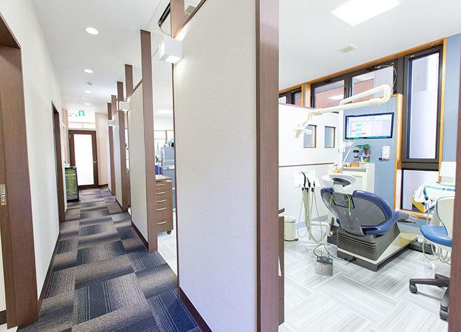 下総中山駅 南口徒歩 5分 岡本歯科クリニックの治療台写真3