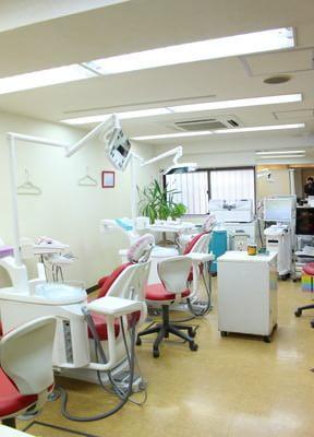 溝の口駅 北口徒歩 7分 あっぷる歯科クリニックの院内写真5