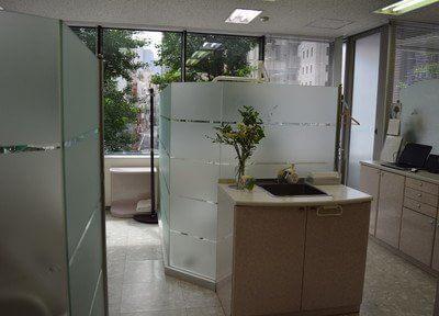 東銀座駅出口 徒歩1分 銀座はけた歯科医院の院内写真3