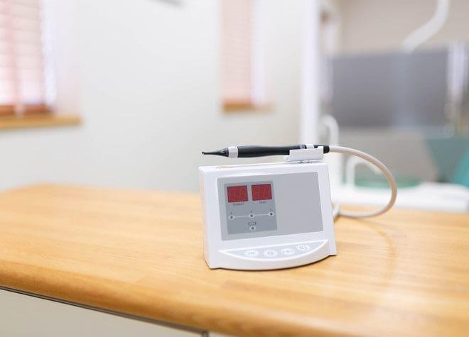2.表面麻酔や電動麻酔器を用いた痛みの少ない麻酔注射