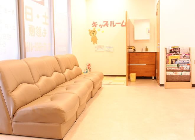 王子駅 北口徒歩 4分 王子ホワイト歯科の院内写真3