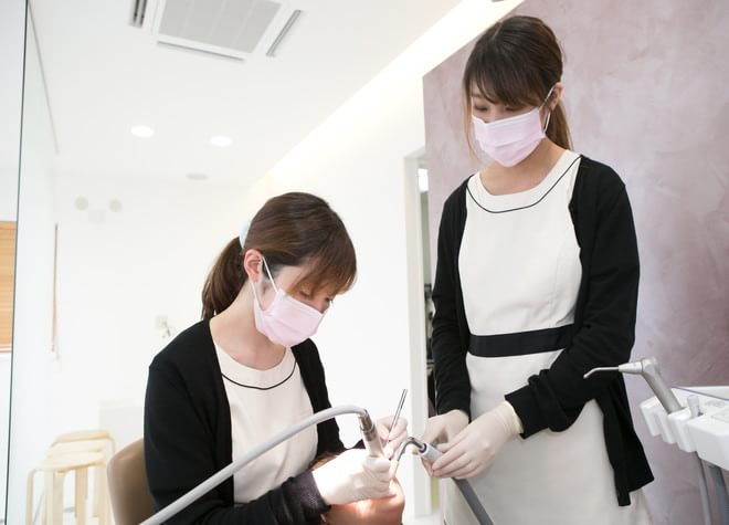 長尾駅 出口徒歩10分 とくだ歯科クリニックのスタッフ写真2