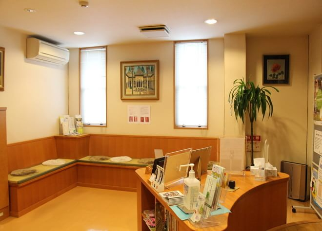 北野白梅町駅 出口徒歩7分 内田歯科医院(大将軍一条町)の院内写真1