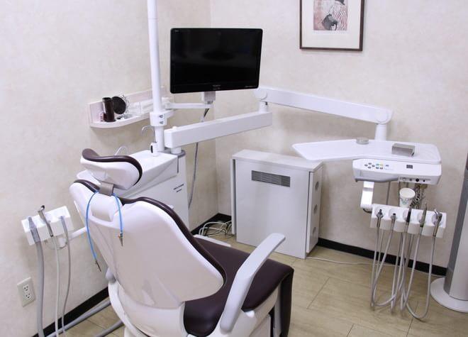 上板橋駅 北口徒歩 6分 松本歯科医院の治療台写真2