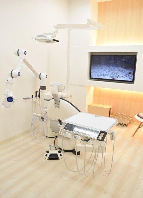 西宮駅(阪神) 出口徒歩 5分 西宮アクア歯科クリニックの治療台写真4