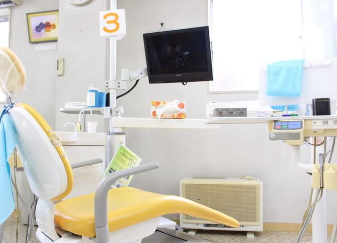 河辺駅 北口徒歩 5分 長谷川歯科医院の治療台写真6
