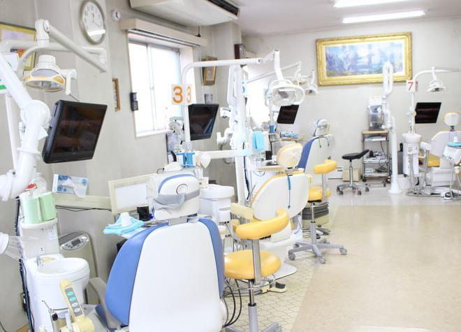 河辺駅 北口徒歩 5分 長谷川歯科医院の治療台写真7