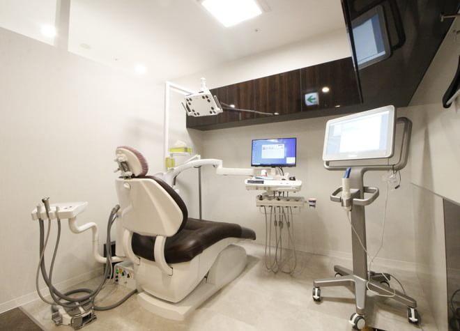 名古屋駅 新幹線口徒歩1分 エスカ歯科・矯正歯科の治療台写真4