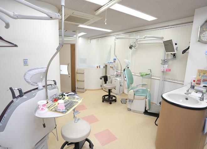 福島駅(大阪府) 出口徒歩 8分 おかだ歯科の治療台写真2