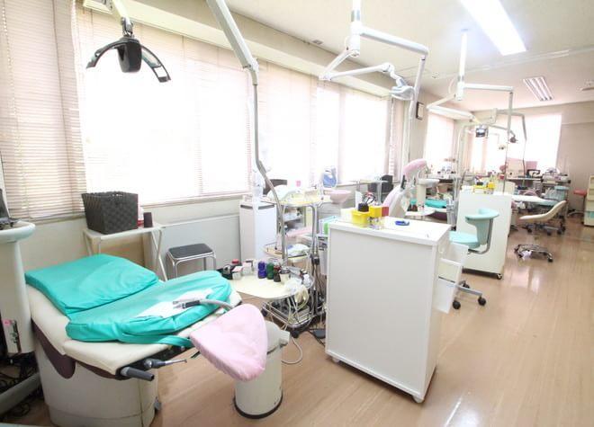 大垣駅 北口徒歩 10分 なかしま歯科の治療台写真3