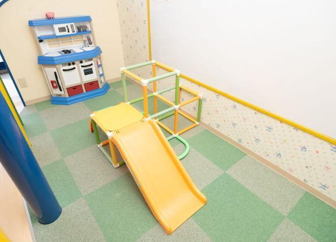 キッズスペースを設置!親御さんも治療に集中しやすい環境