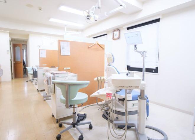 柏駅 西口徒歩1分 ニコ歯科クリニックの治療台写真5