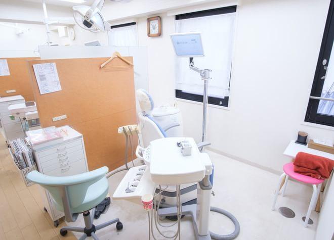 柏駅 西口徒歩1分 ニコ歯科クリニックの治療台写真6