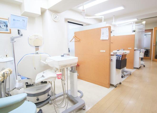 柏駅 西口徒歩1分 ニコ歯科クリニックの治療台写真7