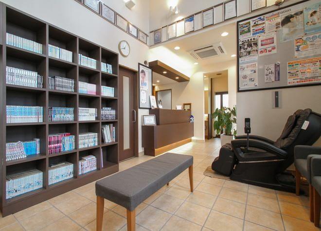 鯰田駅 出口車 4分 ほわいと歯科こども歯科の院内写真6