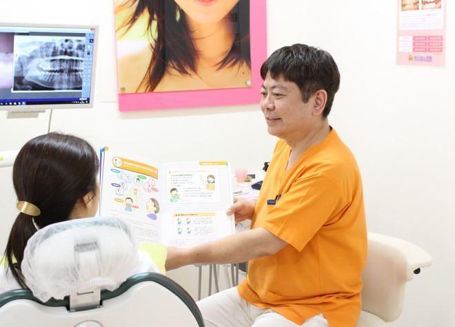 ていねいな説明!患者さんが治療法を選択できるよう配慮