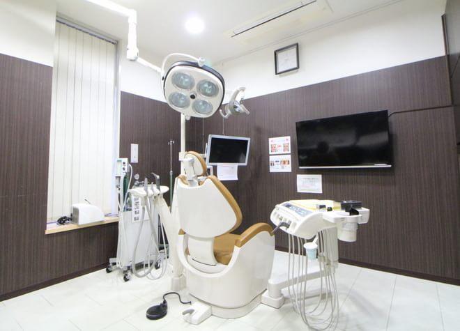日進駅(愛知県) 出口徒歩 13分 白鳥スワン歯科・矯正歯科の治療台写真6