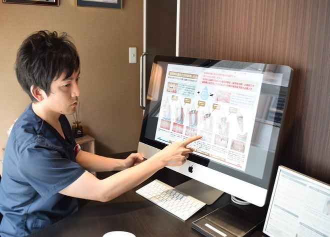 御影駅(阪神) 南口徒歩 1分 御影歯科クリニックのスタッフ写真3