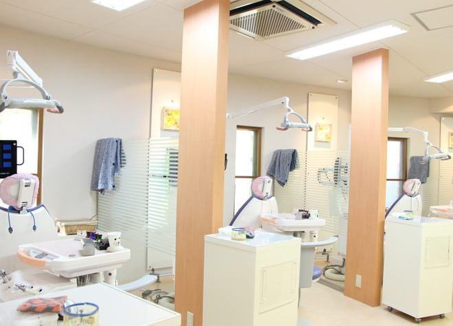 深井駅 出口徒歩 3分 ほった歯科の治療台写真2