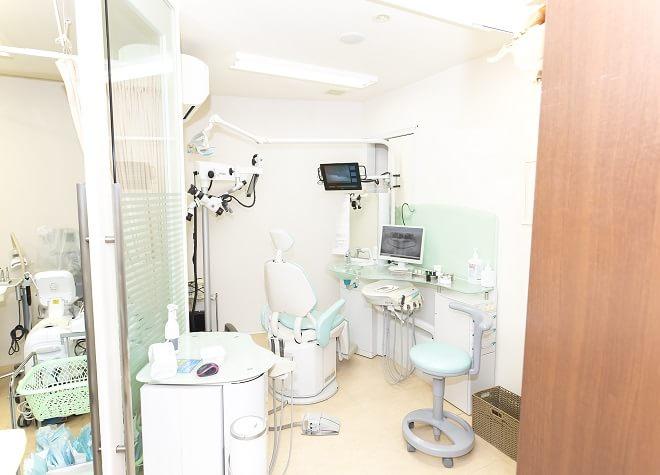 深井駅 出口徒歩 3分 ほった歯科の治療台写真7
