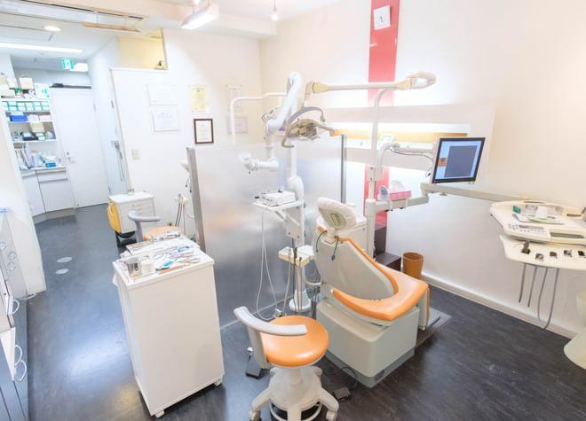 表参道駅 B1出口徒歩 6分 橋本歯科クリニックの治療台写真4