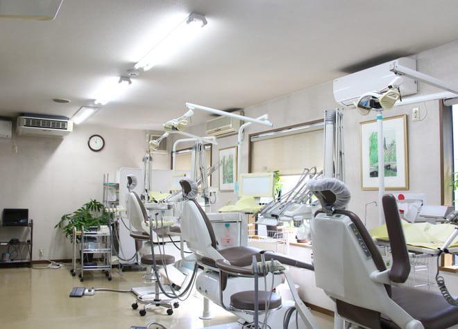 南大塚駅北口 徒歩3分 南台歯科医院の治療台写真6