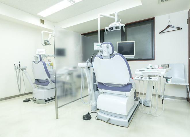 飯田橋駅 C3出口徒歩 5分 いわぶち歯科の治療台写真2