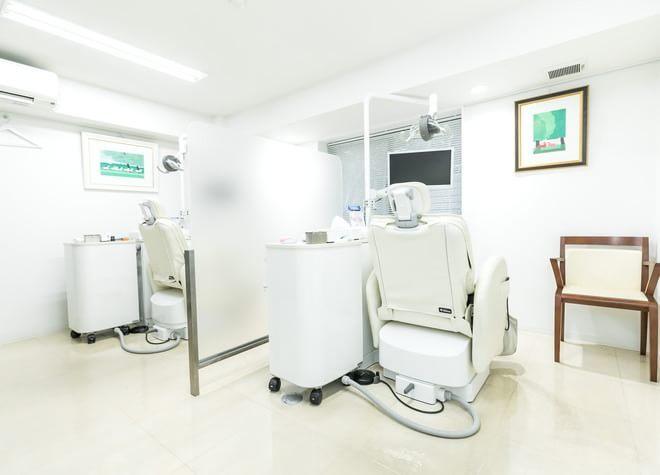 飯田橋駅 C3出口徒歩 5分 いわぶち歯科の治療台写真4