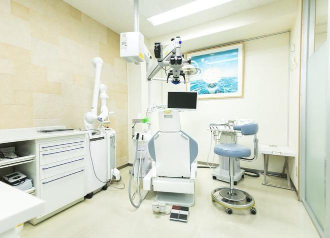 飯田橋駅 C3出口徒歩 5分 いわぶち歯科の治療台写真7