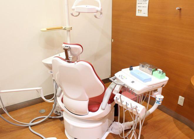 南大高駅 南口徒歩 2分 アール歯科クリニックの治療台写真2