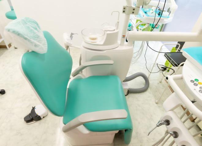 森林公園駅北口 車7分 なめがわモール歯科クリニックの治療台写真4