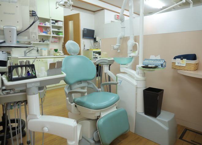 金剛駅 出口徒歩 1分 阪田歯科医院の治療台写真3