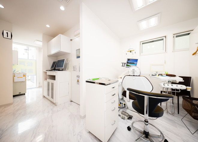 矢切駅 出口徒歩 1分 松戸やぎり歯科・矯正歯科の治療台写真4