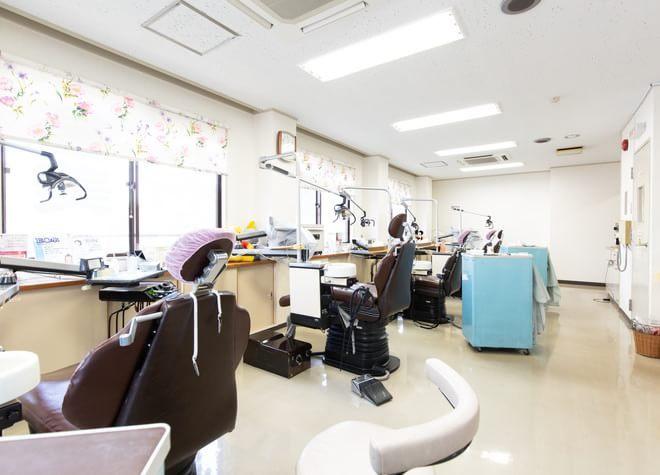 京王堀之内駅 徒歩5分 堀之内歯科の治療台写真2