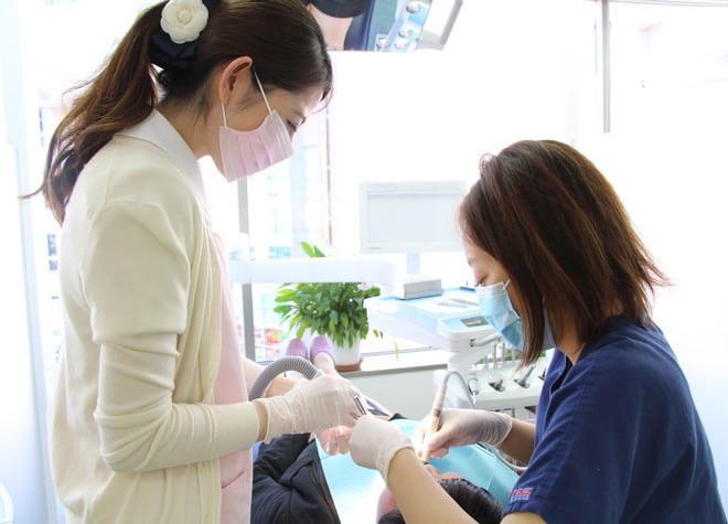 聖蹟桜ヶ丘駅 西口徒歩 1分 けいびる歯科医院のスタッフ写真2